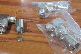 Lot of 10 TNC RA Plug for LMR400