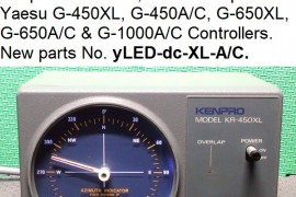 yLED-dc-XL-A/C. LED illumination rotator control