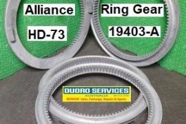 Alliance HD-73 rotator RING GEAR Z-19403-A