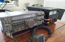 Kenwood TS440s with Power Supply